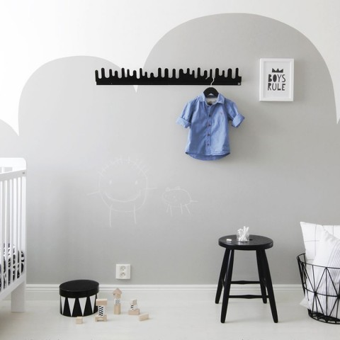 Blackboard wall for kids room